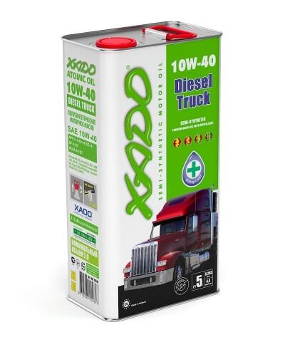 Atomic Oil 10W-40 Diesel Truck