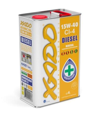 Atomic Oil 15W-40 CI-4 Diesel