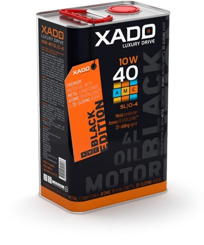 LX AMC Black Edition 10W-40 SL/CI-4