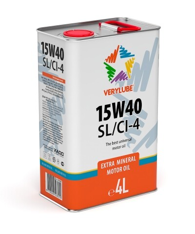 Verylube 15W-40 SL/CI-4